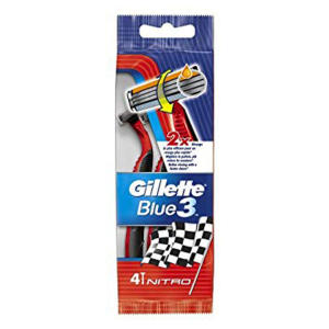 خودتراش ژیلت مدل Blue 3 بسته 4 عددی