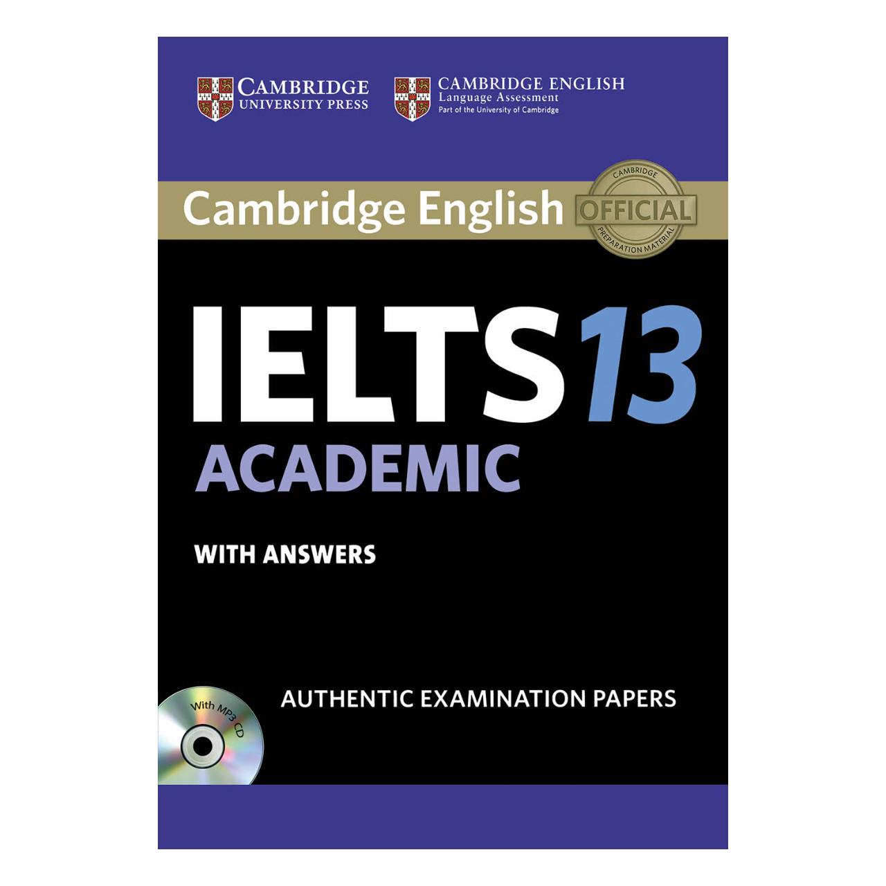 خرید                      کتاب زبان IELTS Cambridge 13 Academic اثر جمعی از نویسندگان
