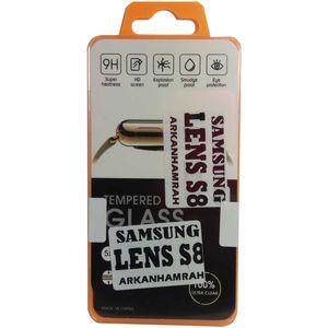 محافظ لنز دوربین شیشه ای مدل تمپرد مناسب برای گوشی موبایل سامسونگ Galaxy S8