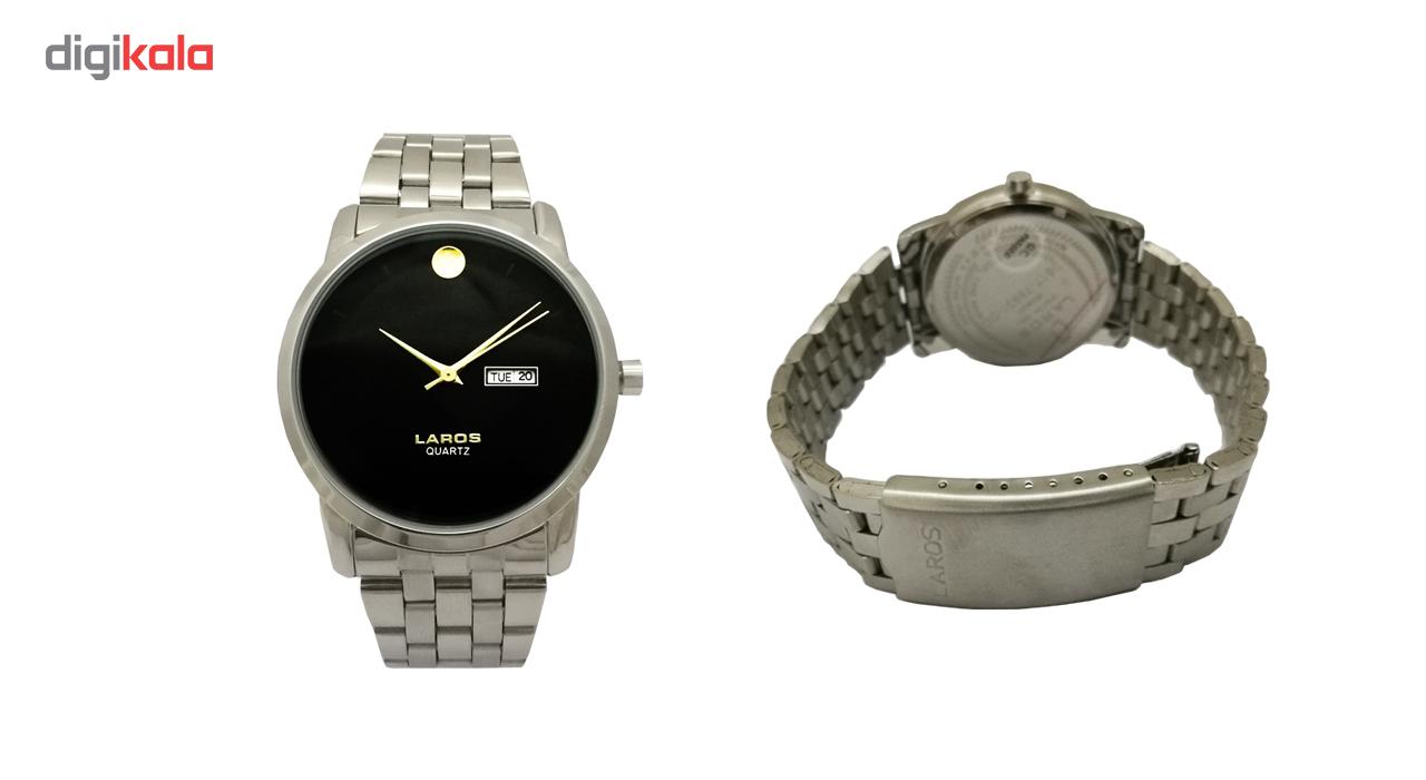 خرید ساعت مچی عقربه ای مردانه لاروس مدل 0817-79931-dd