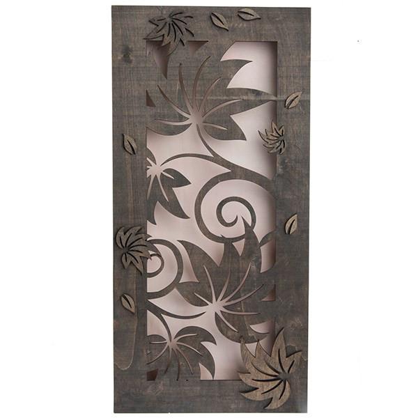 تابلو چوبی گالری اگزیس طرح گل کد 63003