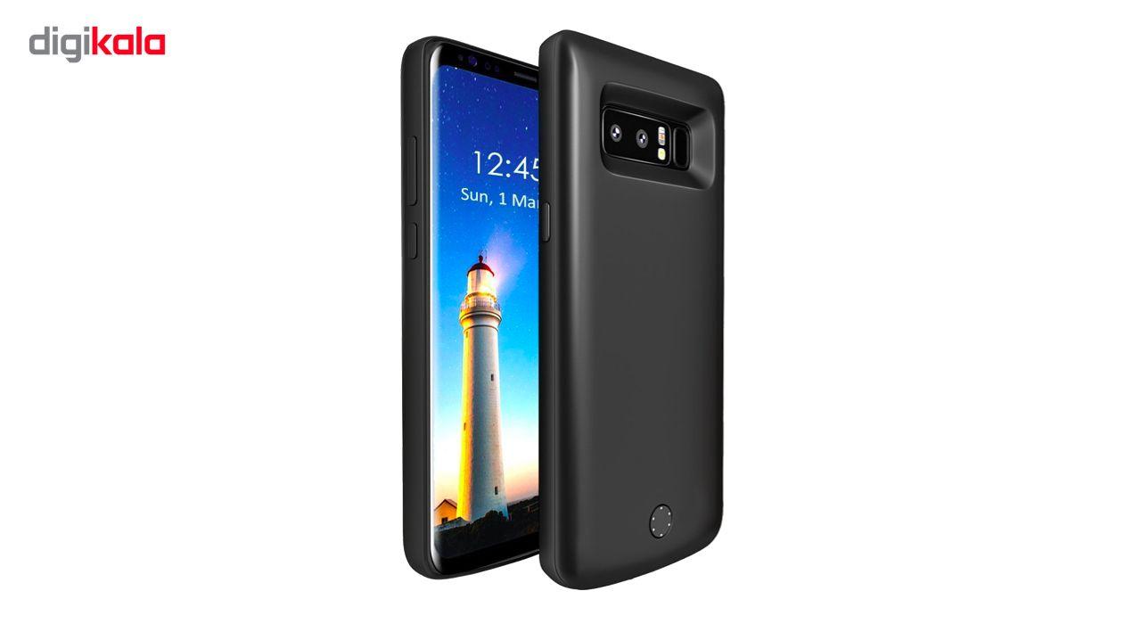کاور شارژ جاست لاو ویجت مدل Battery Backup با ظرفیت 6500 میلی آمپر ساعت مناسب برای گوشی موبایل Samsung Galaxy Note 8 main 1 1