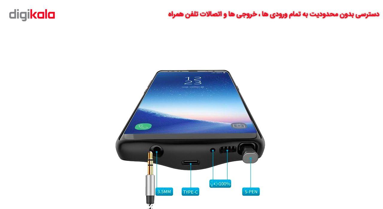 کاور شارژ جاست لاو ویجت مدل Battery Backup با ظرفیت 6500 میلی آمپر ساعت مناسب برای گوشی موبایل Samsung Galaxy Note 8 main 1 6