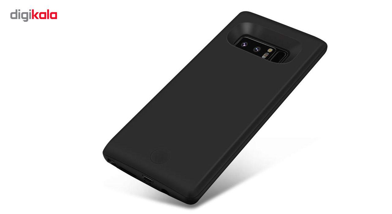 کاور شارژ جاست لاو ویجت مدل Battery Backup با ظرفیت 6500 میلی آمپر ساعت مناسب برای گوشی موبایل Samsung Galaxy Note 8 main 1 2