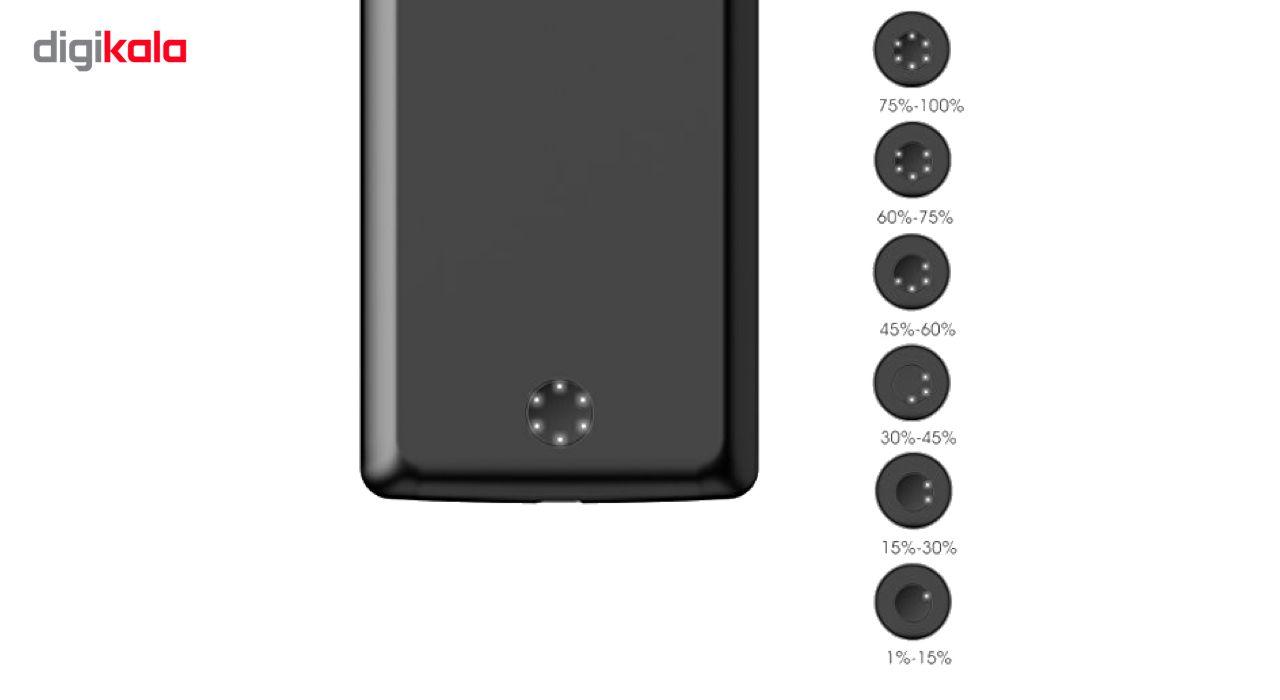 کاور شارژ جاست لاو ویجت مدل Battery Backup با ظرفیت 6500 میلی آمپر ساعت مناسب برای گوشی موبایل Samsung Galaxy Note 8 main 1 8
