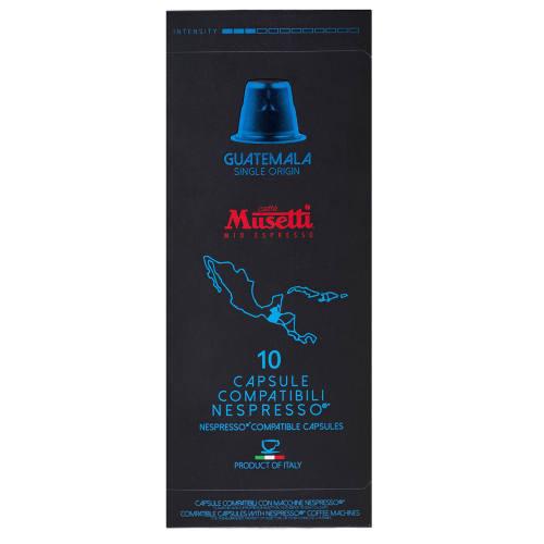 کپسول قهوه موزتی مدل Guatemala تعداد 10 عددی