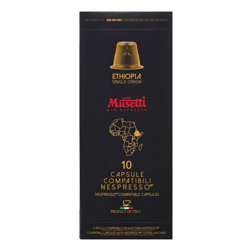 کپسول قهوه موزتی مدل Ethiopia تعداد 10 عددی