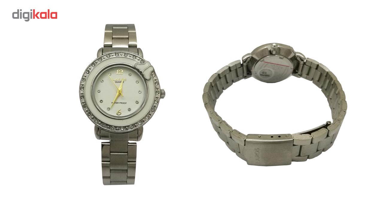 ساعت مچی عقربه ای زنانه لاروس مدل 0816-79896
