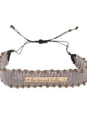 دستبند طلا 18 عیار زنانه آبستره مدل D03 -  - 1