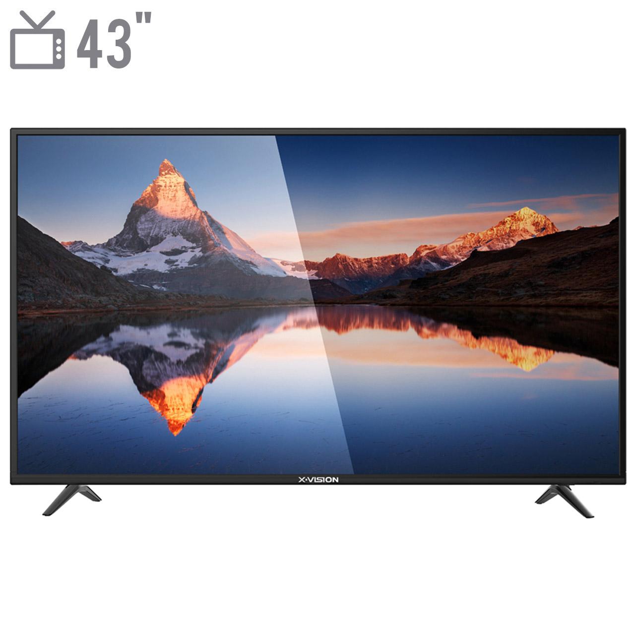 تلویزیون ال ای دی هوشمند ایکس ویژن مدل 43XK565 سایز 43 اینچ