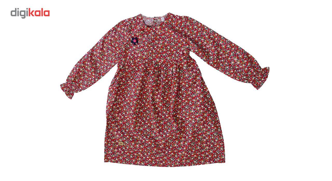 پیراهن دخترانه رسادخت طرح اشرفی