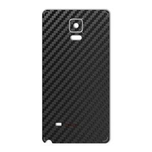 برچسب تزئینی ماهوت مدل Carbon-fiber Texture مناسب برای گوشی  Samsung Note 4