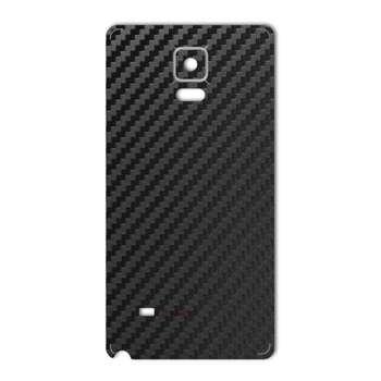 برچسب پوششی ماهوت مدل Carbon-fiber Texture مناسب برای گوشی  Samsung Note 4