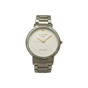 ساعت مچی عقربه ای مردانه صفحه سفید لاروس مدل 0617-79457