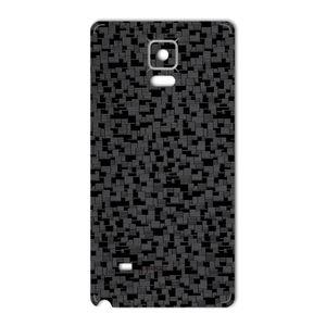 برچسب تزئینی ماهوت مدل Silicon Texture مناسب برای گوشی  Samsung Note 4