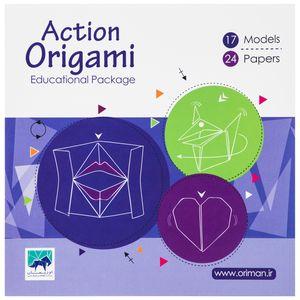 کاغذ اوریگامی اوریمان مدل Action