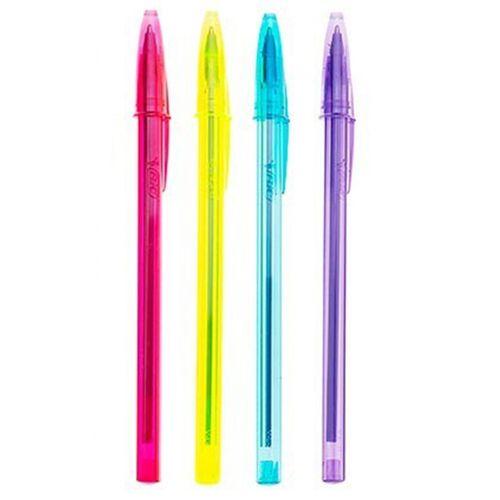 خودکار بیک1.2 مدل Cristal Soft and Fashion - بسته 4 عددی 4 رنگ