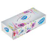 دستمال کاغذی 100 برگ تنو طرح گل درشت thumb