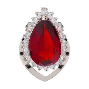 گیره روسری مارنا گالری مدل Red Stone