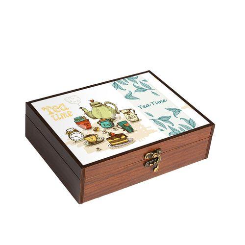 جعبه چای و نسکافه هوم لوکس مدل HT9069
