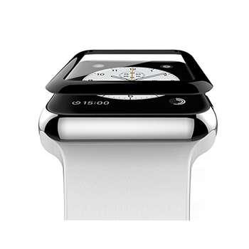محافظ صفحه نمایش شیشه ای مدل Tempered Glass Screen Guard مناسب برای اپل واچ سایز 42 میلی متر
