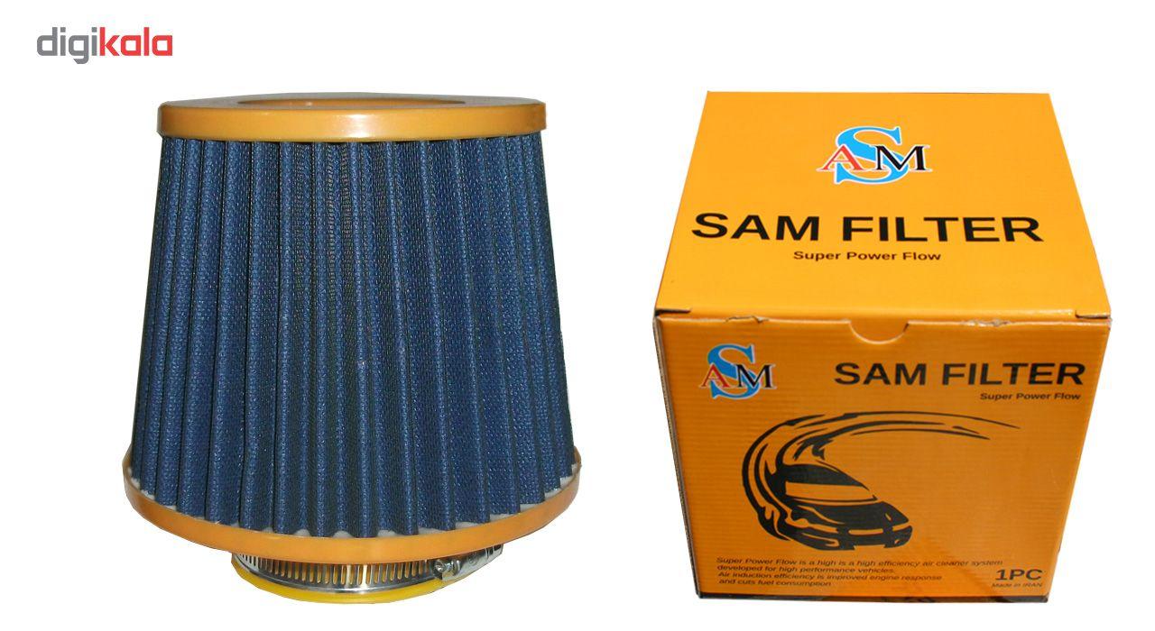 فیلتر هوای خودروی اسپرت مدل توری-پارچه متوسط main 1 5