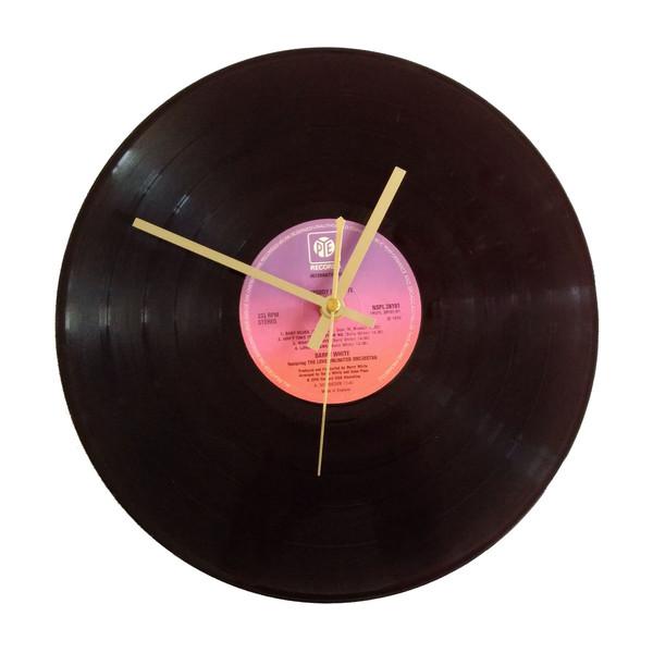 ساعت صفحه گرام 33 دور مدل بری وایت سایز40 × 40