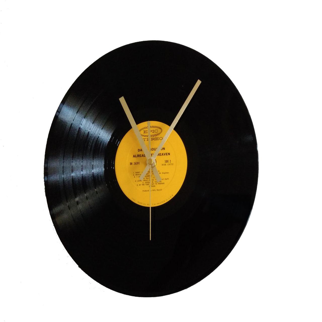 ساعت صفحه گرام 33 دور مدل دیوید هیوستون سایز40 × 40