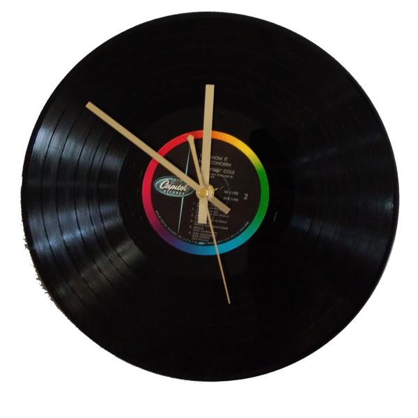 ساعت صفحه گرام 33 دور مدل کینگ کول سایز40 × 40