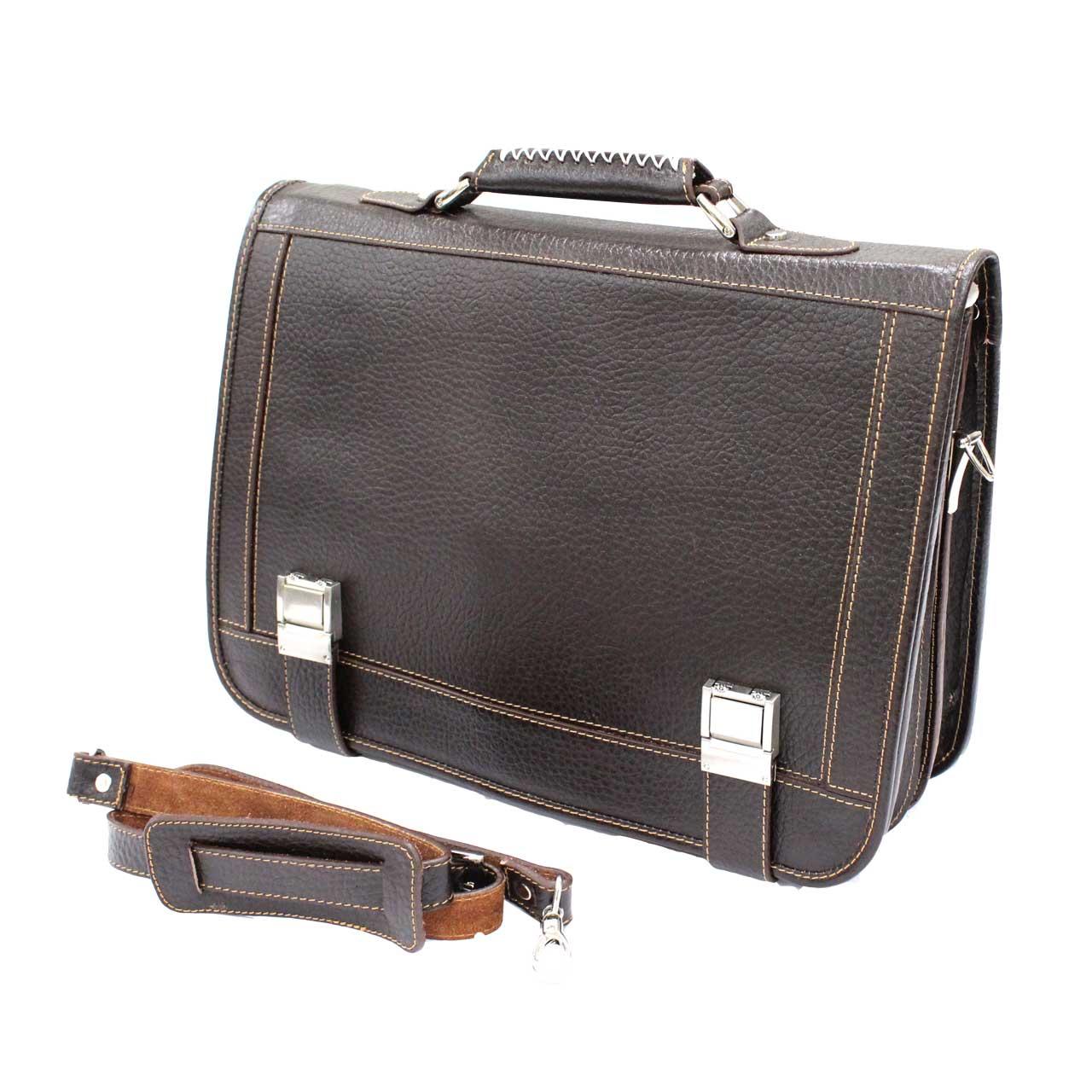 کیف اداری چرم طبیعی آروین چرم مدل AR-404