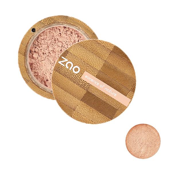 پودر تثبیت کننده آرایش زاو مدل Mineral Silk شماره 502