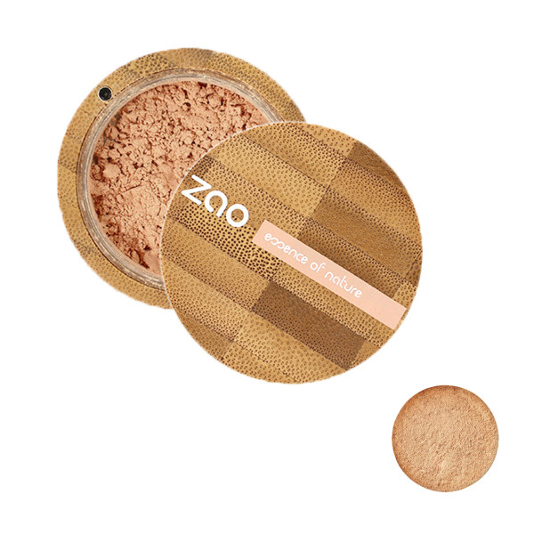 پودر تثبیت کننده آرایش زاو مدل Mineral Silk شماره 503