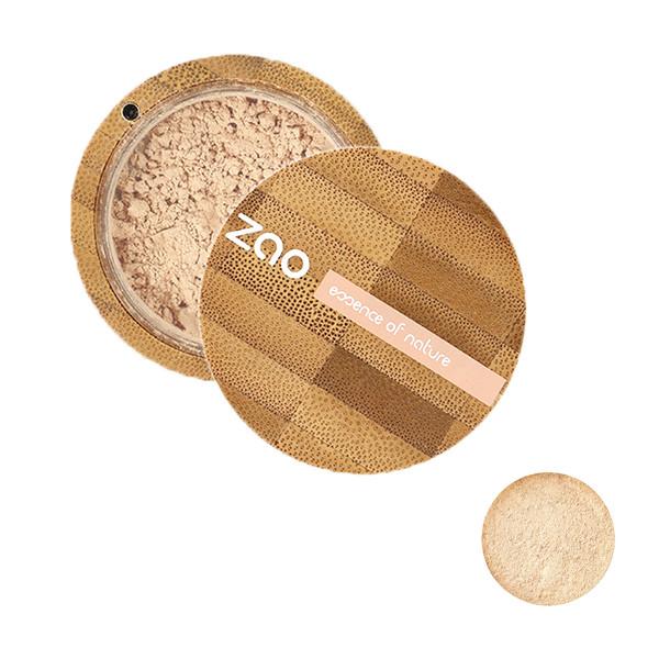 پودر تثبیت کننده آرایش زاو مدل Mineral Silk شماره 507