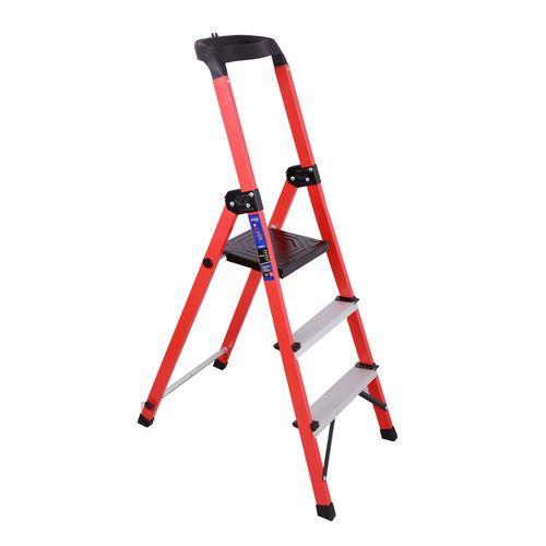 نردبان 3 پله آلوم راد مدل زرین