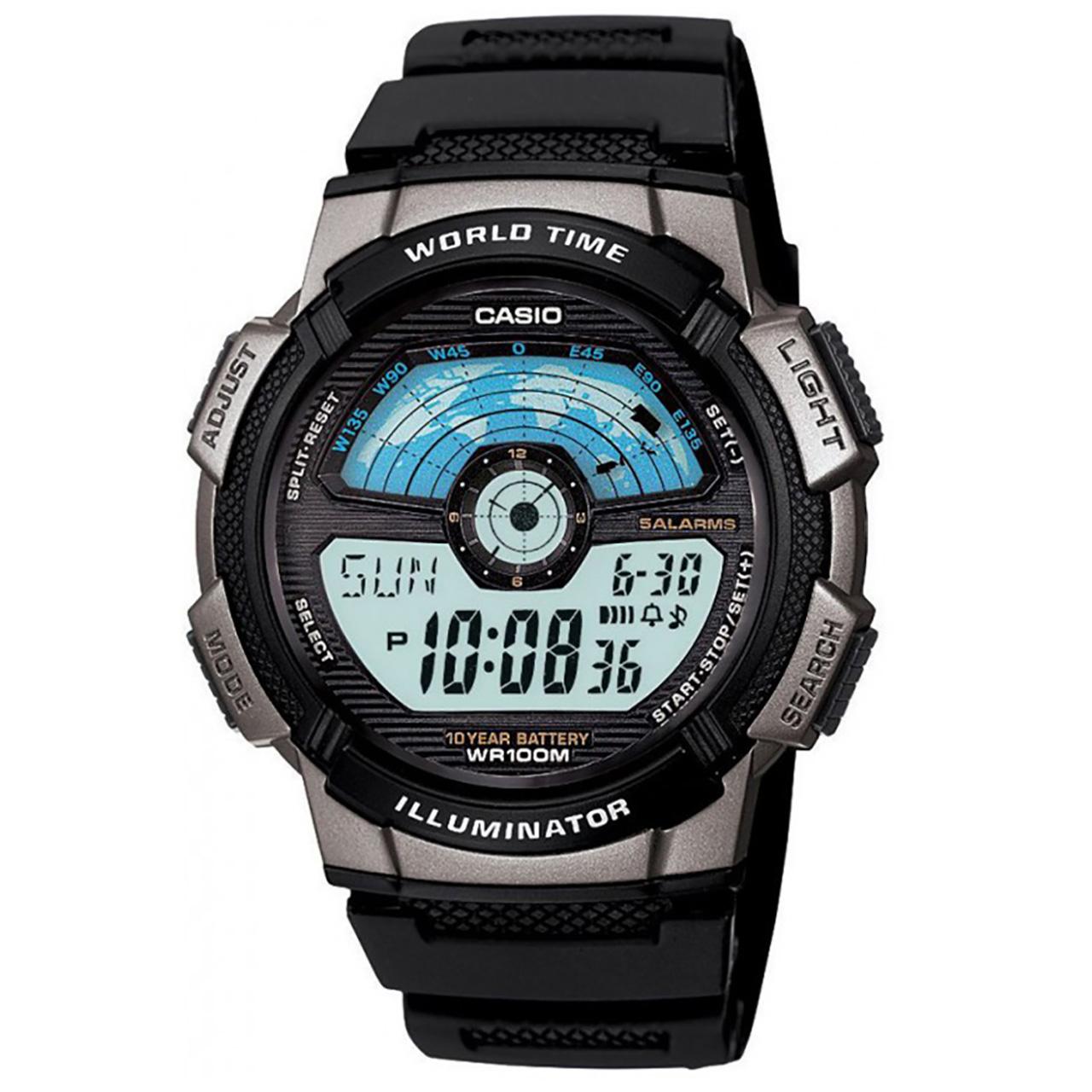 ساعت مچی دیجیتالی  کاسیو مدل AE-1100W-1AVDF