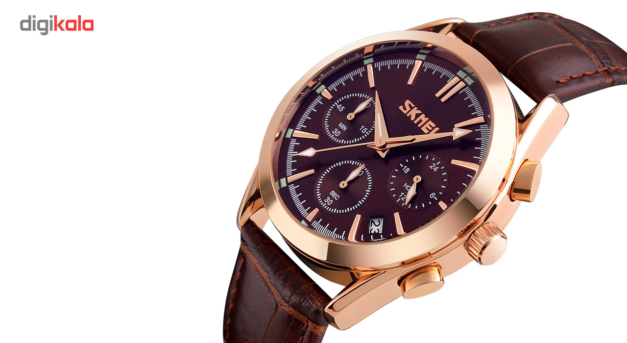 خرید ساعت مچی عقربه ای مردانه اسکمی مدل 9127 کد 03 | ساعت مچی
