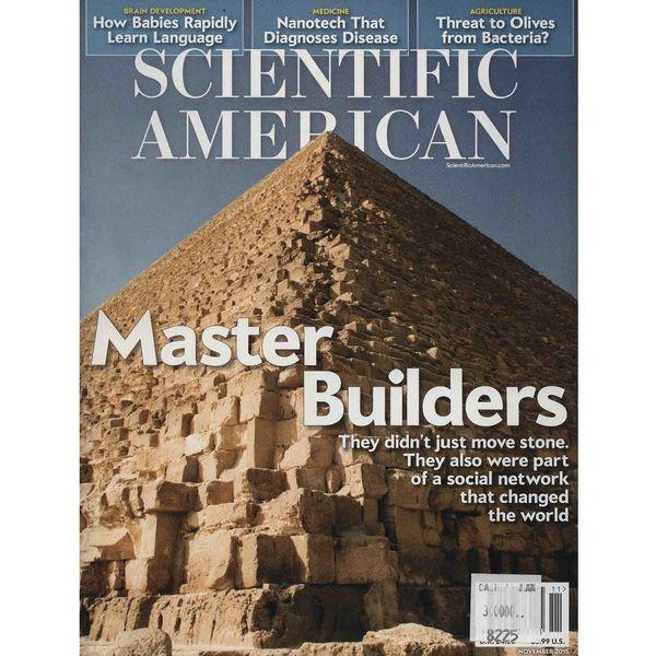 مجله ساینتیفیک امریکن - نوامبر 2015