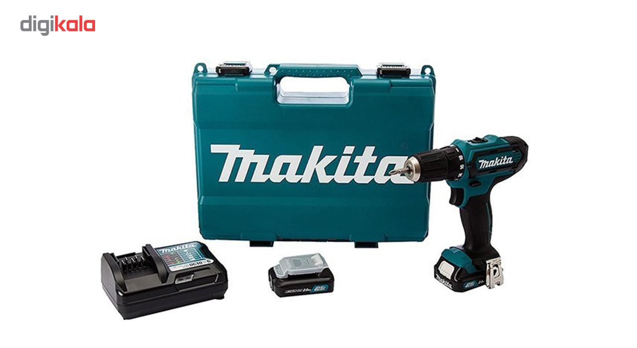 دریل پیچ گوشتی چکشی شارژی ماکیتا مدل HP331DWAE ولتاژ 12 ولت
