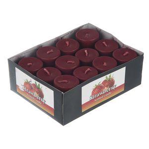 شمع مدل Starwberry بسته 12 عددی