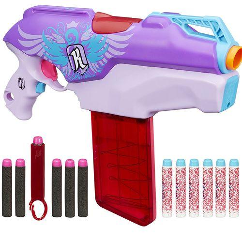 تفنگ اسباب بازی نرف مدل Rebelle Rapid Red Blaster