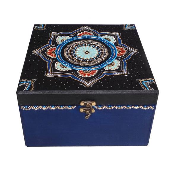 جعبه جواهرات چوبی یک هدیه خوب کد a01