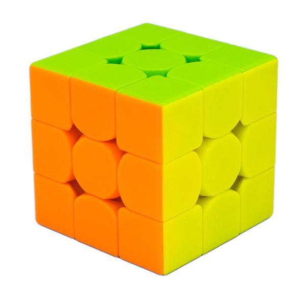روبیک چی یی مدل تاندر کلپ ورژن دو ابعاد 3x3 سانتی متر