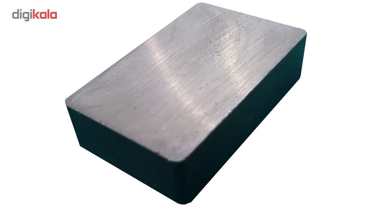 آهن ربا مدل مکعبی 10*25*40 بسته ده عددی رنگ مشکی main 1 1