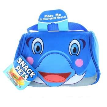 کیف غذای کودک Snack Pets طرح دلفین