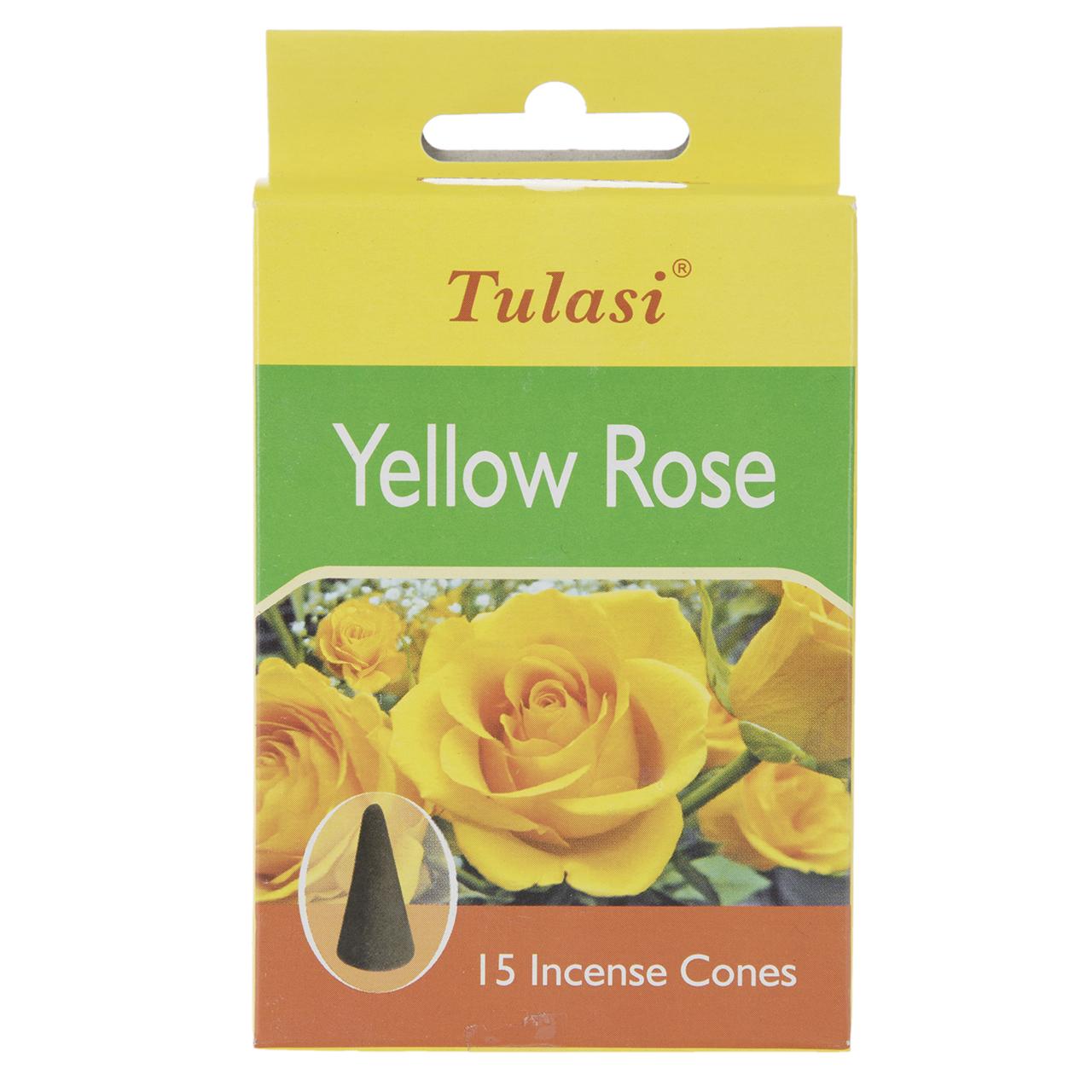 عود خوشبوکننده تولاسی مدل Yellow Rose