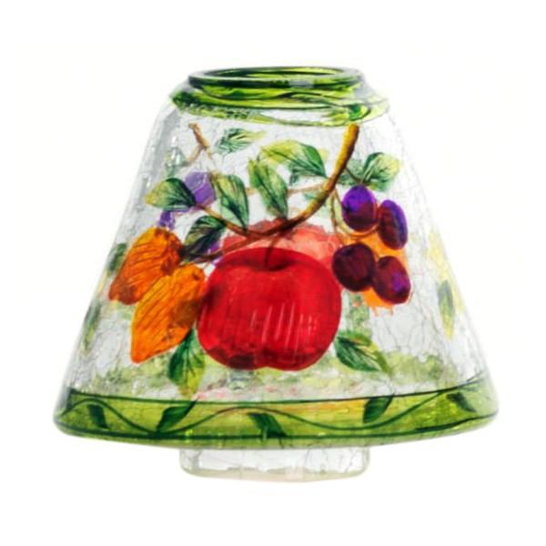 جاشمعی شیشه ای ینکی کندل مدل حباب کوچک صدای باغ