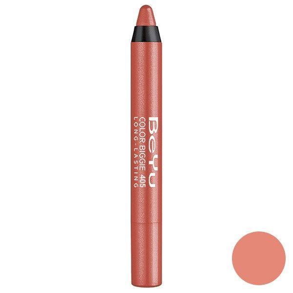 رژ لب مدادی 2 کاره بی یو مدل Color Biggie for Lip and More 405
