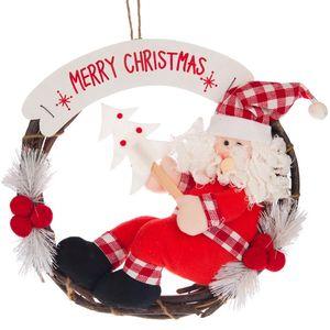 آویز عروسکی پشت دری مدل بابانوئل