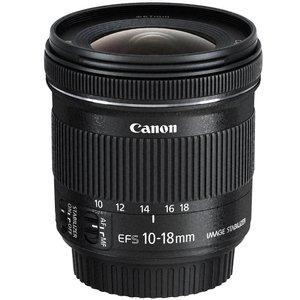 لنز کانن EF-S 10-18mm F4.5-5.6 IS STM
