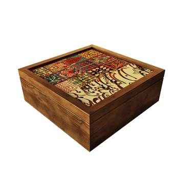 جعبه چای کیسه ای آرت مان مدل فرش خط خشتی
